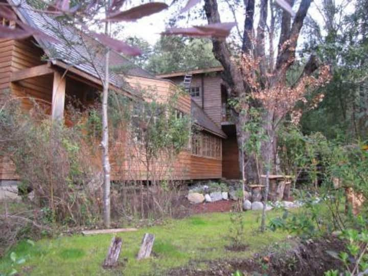 Casa en el Lago Calafquén, sector Coñaripe