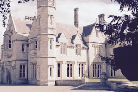 Unique 9 bed Gothic manor near Kilkenny - Muine Bheag - Hus