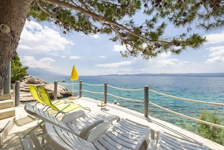 Apartment ALENKA private access to beach