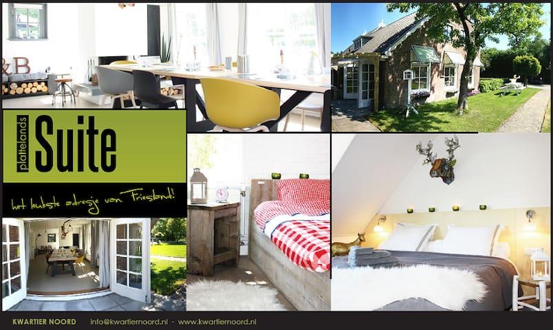 Charming B&B - Katlijk Heerenveen - House