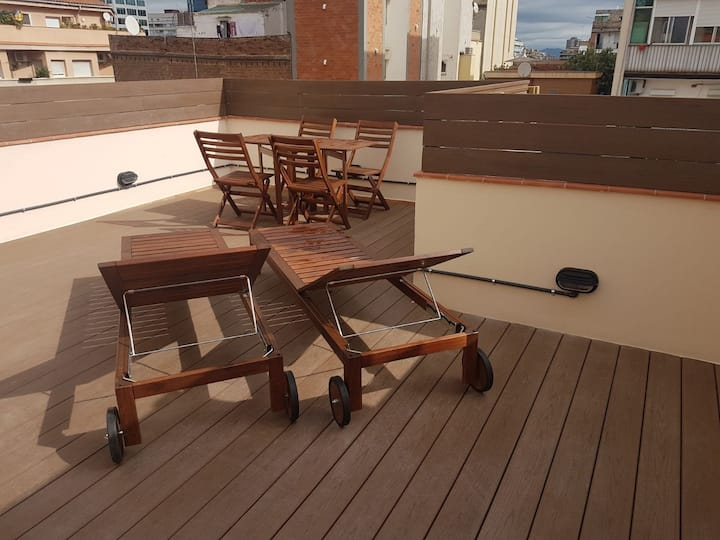 Planta baja con terraza privada