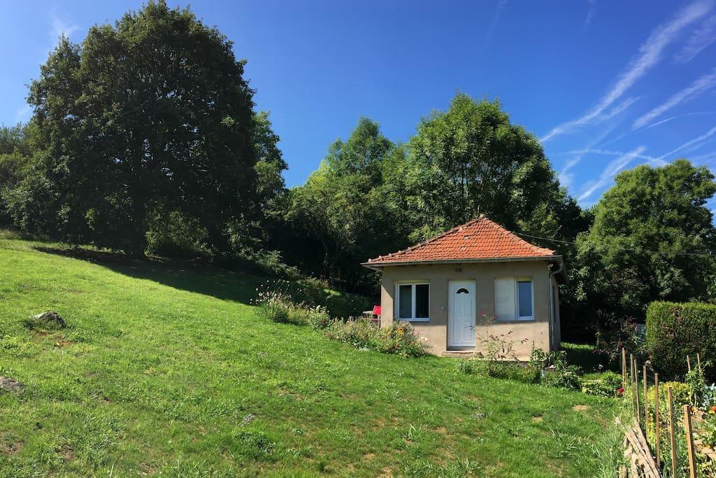 Cottage calme proche zoo d 39 amn ville maisons louer for Maison hote amneville