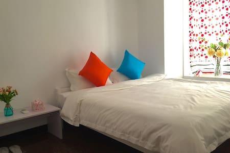 靠近岭南天地,距离祖庙地铁站B出口只有20米的两房公寓 - Foshan - Lägenhet