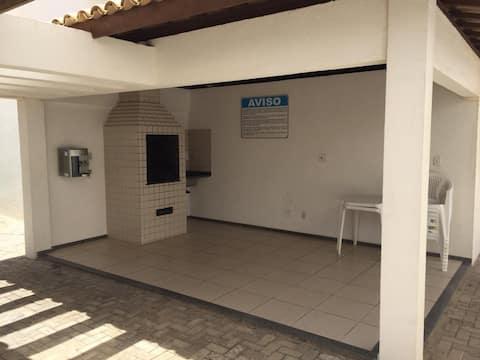 Apartamento para seis pessoas na Atalaia.