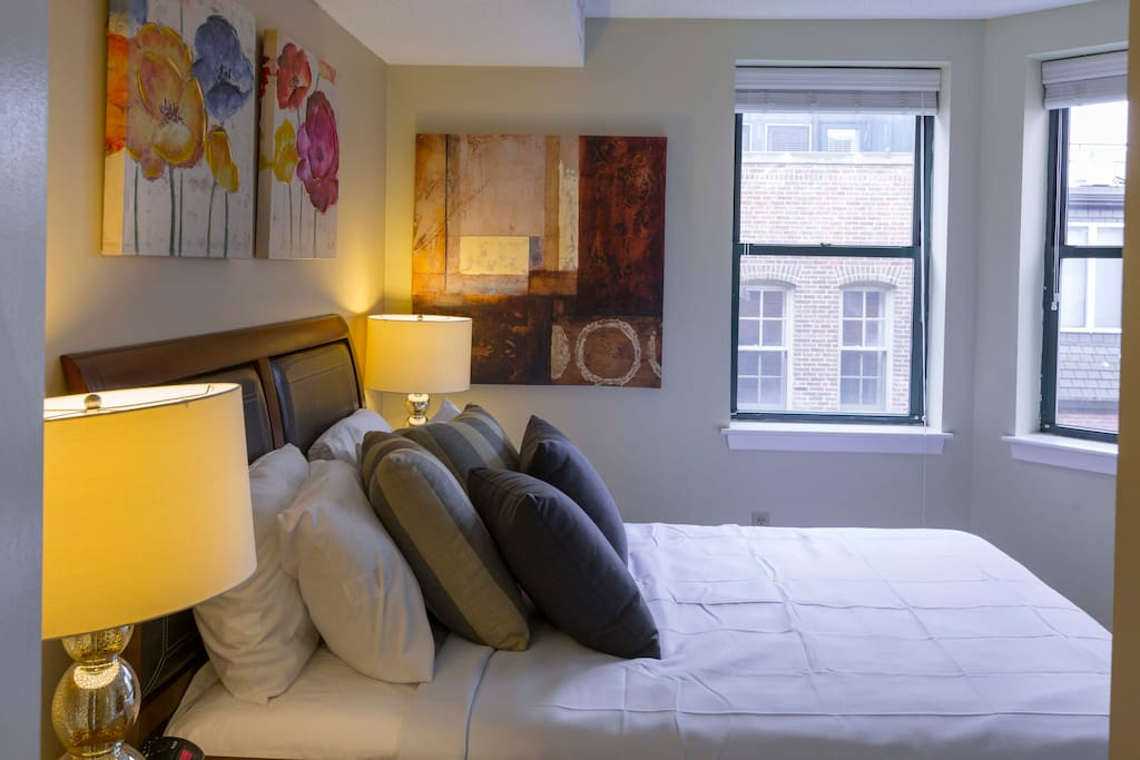Second Bedroom at The Garrison Square by Stay Alfred