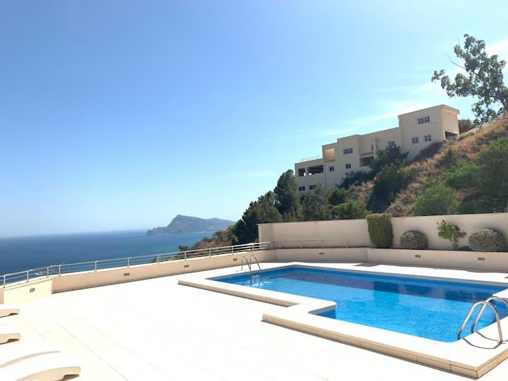 Luxury Condo with amazing sea view in Altea Hills