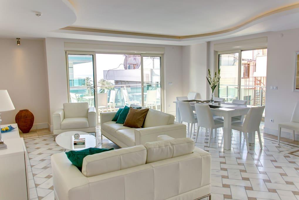 First floor main living room.