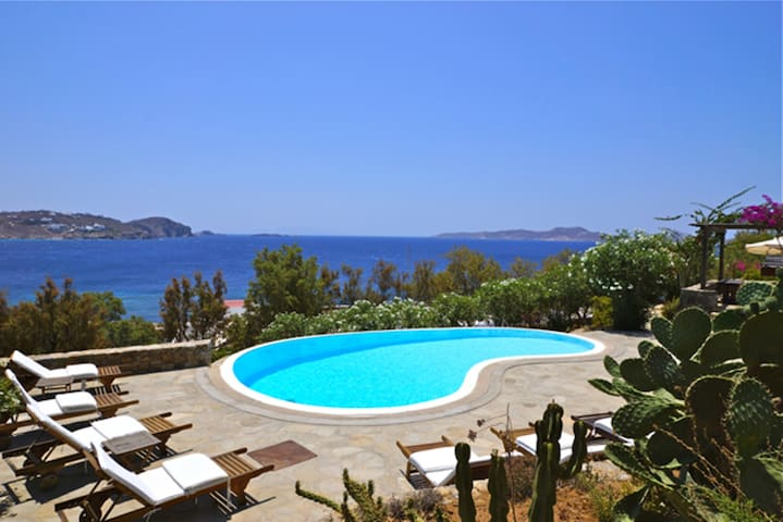 Mykonos  3 bedroom Villa with Private Pool - Agios Ioannis Diakoftis