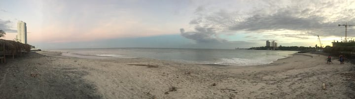 Playa Gorgona, frente a la Playa