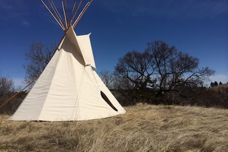 Tipi Under the Stars ~ Pine Ridge