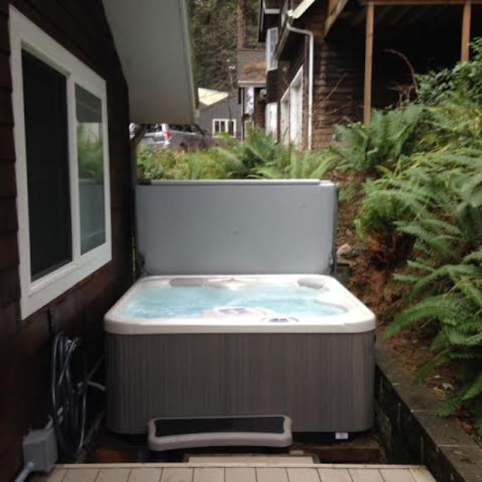 Brand new hot tub!