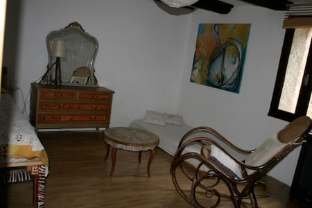 maison traditionnelle larzac jardin - Cornus - House - 2