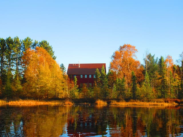 Eco-home on Pitcher Pond