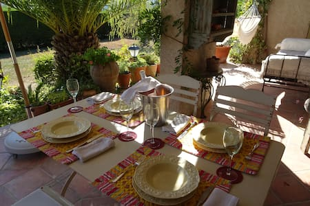 Charming Apartment w/ big Terrace - Fayence - Appartement