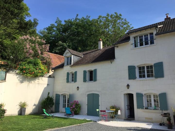 Maison 5 min de Beauval près châteaux de la Loire