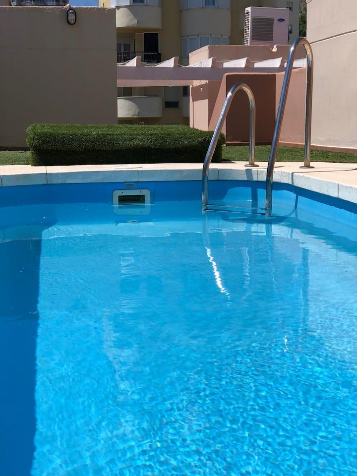 Duplex piscina y playa
