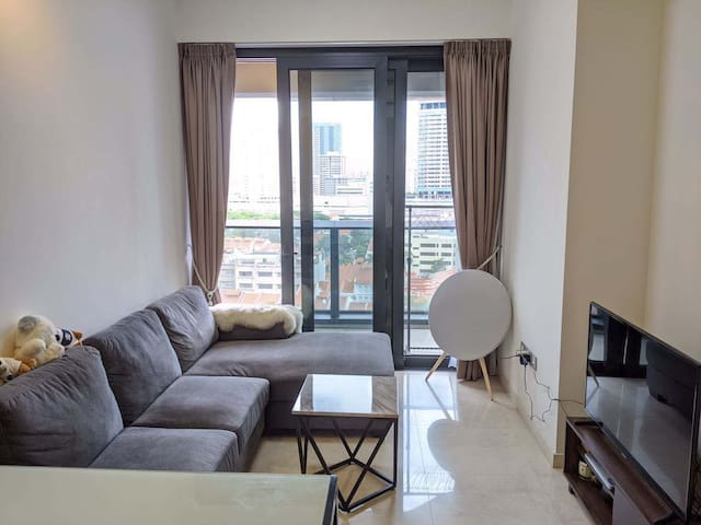 Luxury condo one-bedroom at centre Bugis
