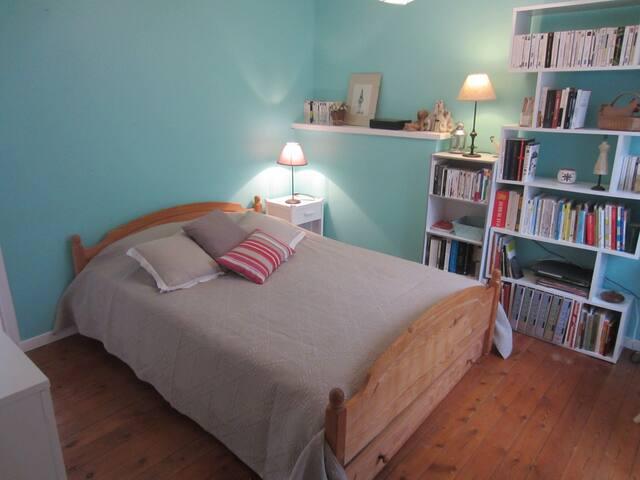 Chambre 2 personnes au calme Bayeux centre - Bayeux - Haus