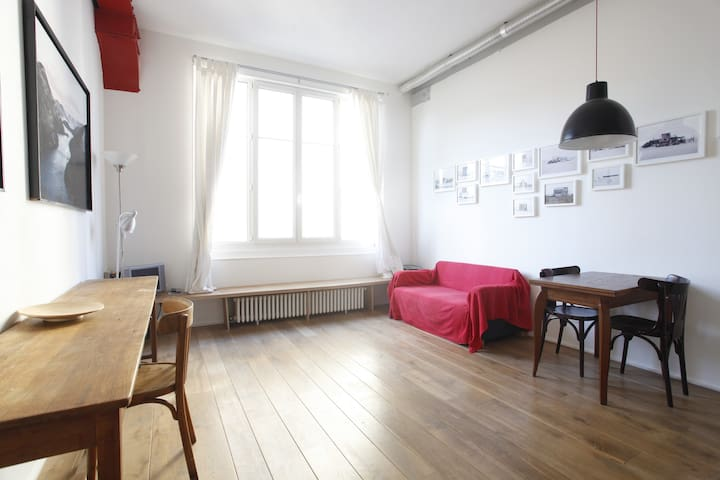 BIG DESIGNER STUDIO NEAR BUTTES CHAUMONT