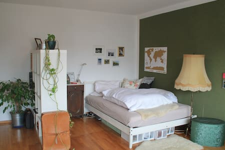 Gemütliches Zimmer in ruhiger Lage mit Gartenblick - Bamberg