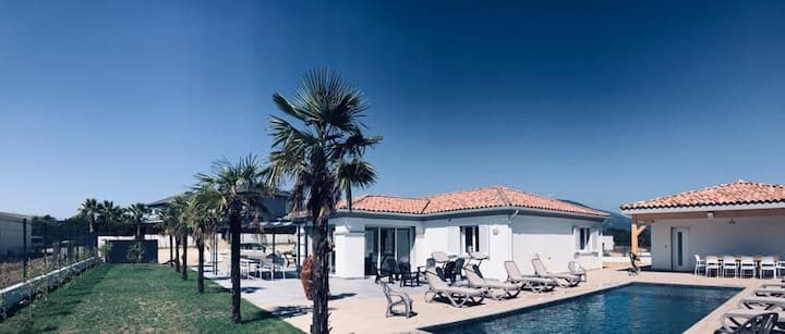 Villa Luxe  Bravone, MER & PISCINE privée 6/9 pers