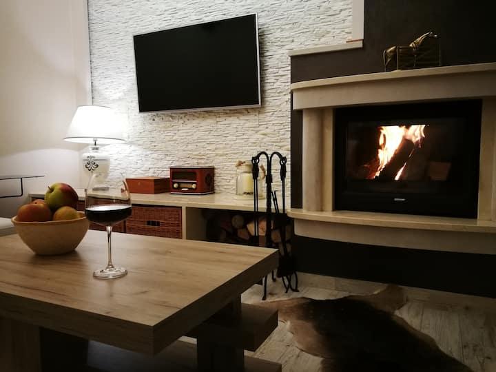 Ostoja Zaskalskie - dwupoziomowy apartament, 100m2