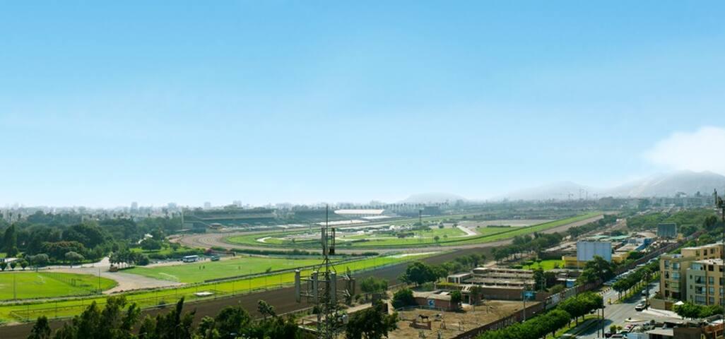 Vista Panoramica de todo los ambientes