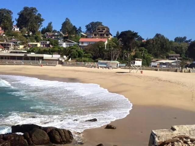 Casa patrimonial, pasos de la Playa - Las Cruces - Hus