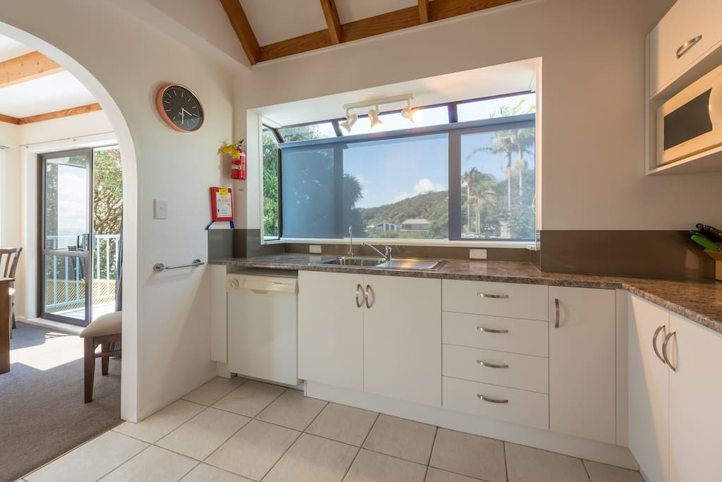Modern fully equipped kitchen