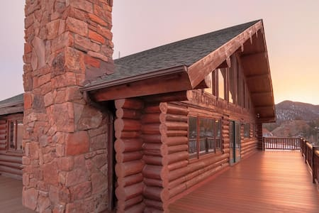Beautiful Log Home-Spectacular View - Estes Park - 단독주택