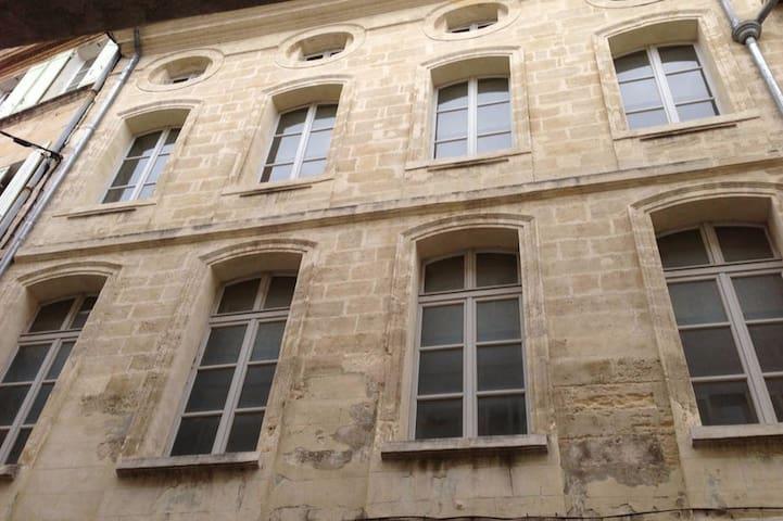 Bel appartement de 105m2 pour 6/7 personnes - Avignon - Daire