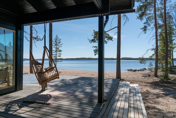 Beach House Room 1 at Lake Saimaa - 2 pers
