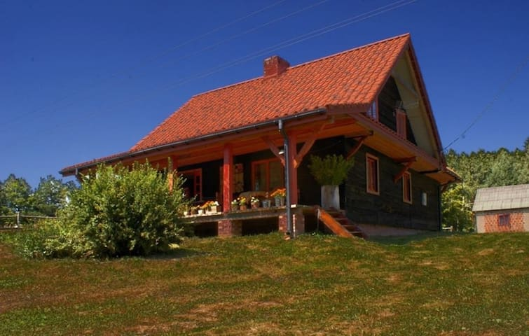 Agroturystyka Wolna Republika Grabnik - Krasnobród - House