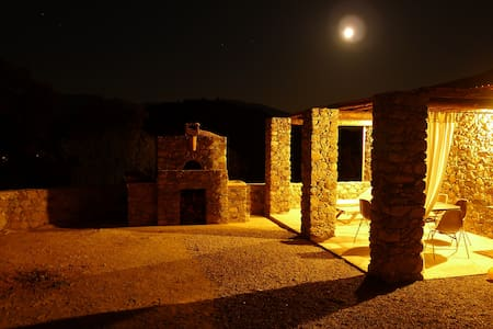 MAISON EN PIERRE GORGES DE L'ASCO - Moltifao