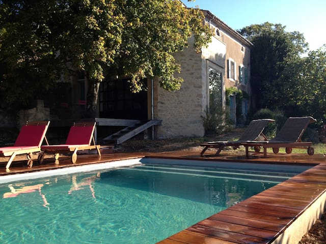 Near Minerve, with swimming pool - Vélieux - Casa