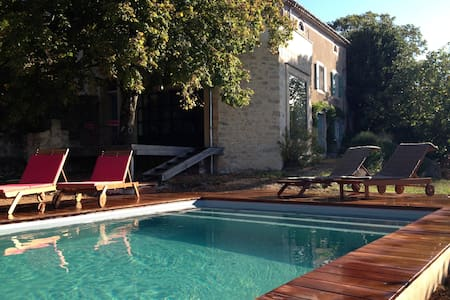 Near Minerve, with swimming pool - Vélieux - Talo