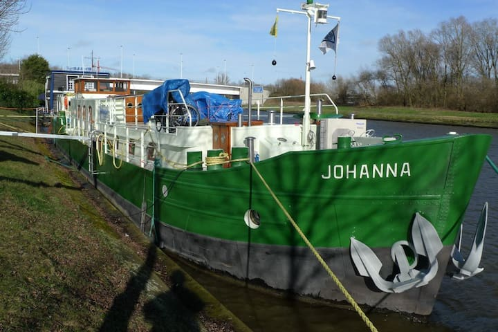 Barge Johanna (double bed) - Bruges - Barca