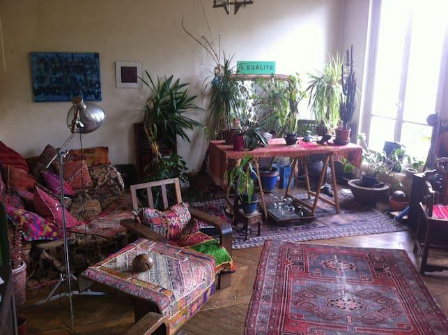 An artist room in Montmartre