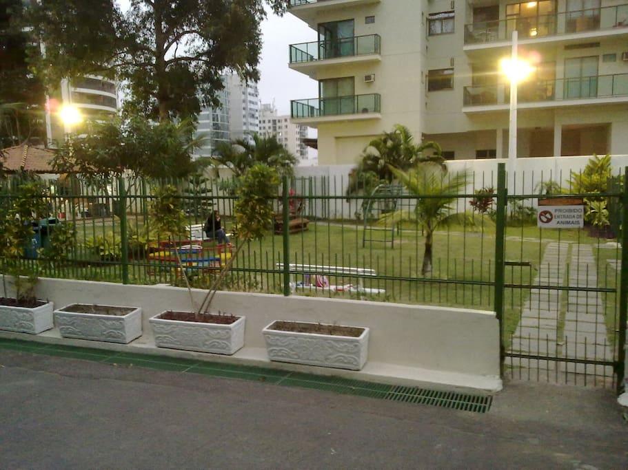 Jardins, descanso