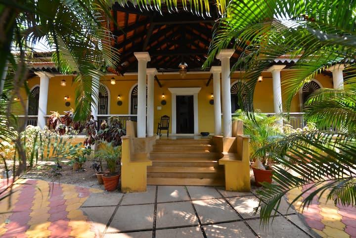 Portuguese Villa with PRIVATE POOL  in  North Goa