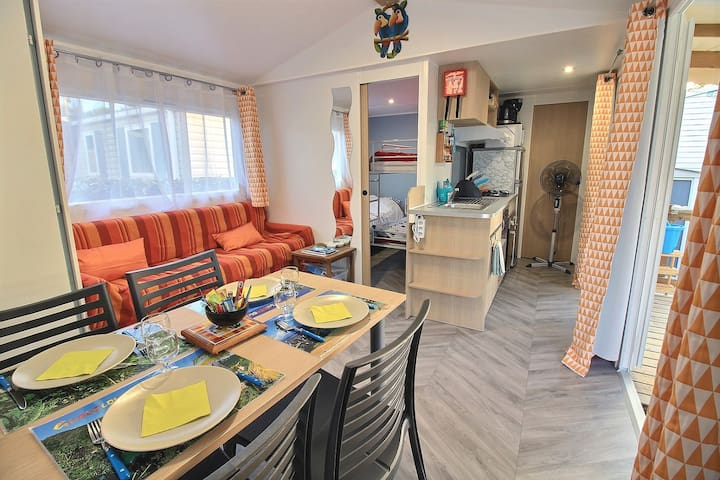 MOBILHOME FAMILIAL dans Camping 4*