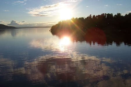 Idyllic lake house, 40 min from Oslo. - Hole
