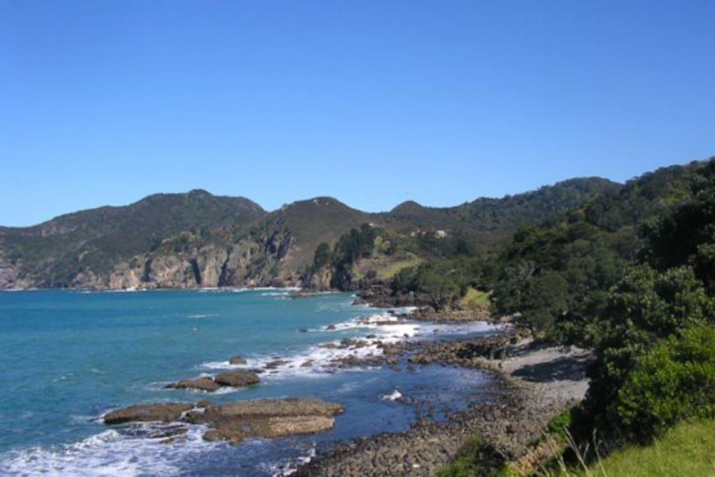 Tuateawa Bay.