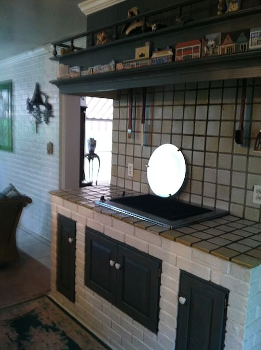 Indoor Grill Room