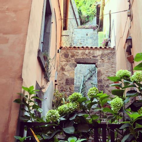Villa historical centre Bolsena