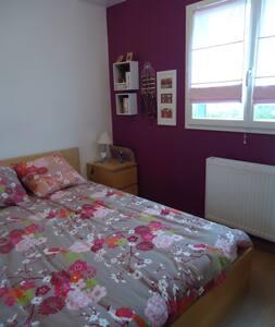 Petite Chambre  sympas, calme et confortable.