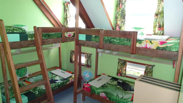 ThresherShack Beachfront Guesthouse - Green Room