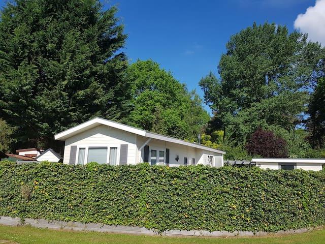 Luxury chalet for rent on the Veluwe for 4 people