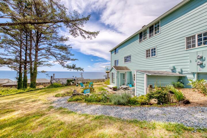 Oceanview escape with sweeping views and easy beach access!