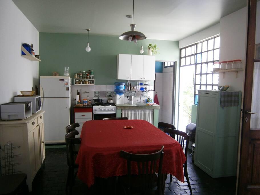 Big space kitchen